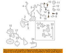 AUDI OEM 99-05 A4 Quattro 1.8L-L4 Emission-Elbow Clamp N10258101