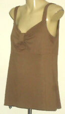 GRACE HILL SweetheartNecklineBeigeStretch Sz14 EUC