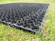 Ground Protection Rubber Mat 1500mm x 1000mm FREE Fixings FREE Delivery