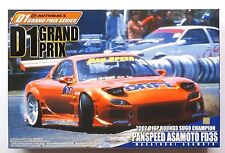 AOSHIMA D1 Grand Prix SP 1/24 Pan Speed Asamoto FD3S Mazda RX-7 scale model kit