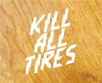 KILL ALL TIRES Aufkleber Sticker Hoonigan Ken Block DC Vinyl Decal Turbo Tuning