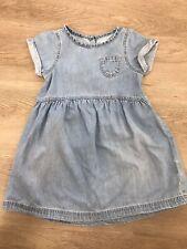 Girls Next Denim Dress age 2-3