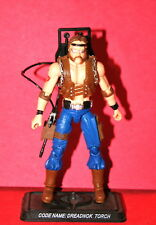 GI JOE 25TH TORCH DREADNOK LOOSE COMPLETE