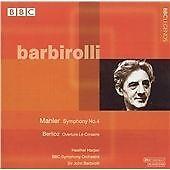 "CD BBC LEGENDS BBCL 4014-2 Mahler ""Symphony No.4"" Berlioz Le Corsaire Barbirolli"