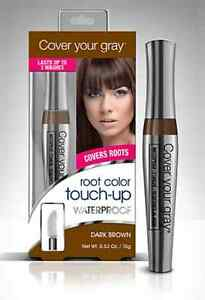 Cover Your Gray Root Color Touch Up Waterproof - Covers Roots Temporary/Wash-Out