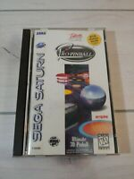 Pro Pinball Sega Saturn 1996 Case Manual Reg Card Tested Working Interplay