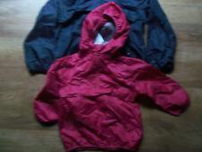 Girls Next Pink packaway waterproof hooded cagule Age 3-4 Years BNWT  x