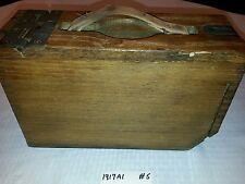 M1917 A1 Wood Ammunition Box