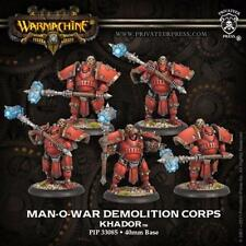 Privateer Press Warmachine Khador Man-O War Demo Corps PIP 33085