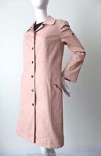 LISA HO Women's Coat Pink Denim Snap Button Size 10  US 6 EUR 38