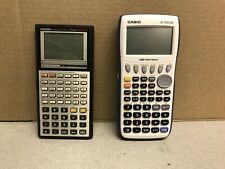 Casio Graphing Calculator Lot Fx-7000g And Fx-9750gii Tested And Working