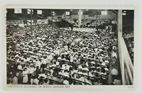 Postcard Church of God Camp Grounds Service Day Anderson Indiana 1947