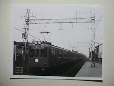 JAP534 - 1965 KEIO TEITO Railway - ELECTRIC TRAIN PHOTO - Meidaimai Japan