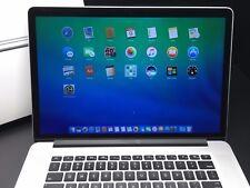 "Apple Macbook Pro 15"" Retina 2013-2014 / OSX-2015 / 512GB+ / Three Year Warranty"