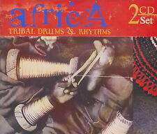 Africa - Tribal Drums and Rhythms - Various Artists  *** BRAND NEW 2CD SET ***
