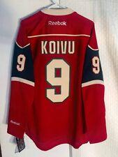 Reebok Premier NHL Jersey Minnesota Wild Mikko Koivu Red sz S