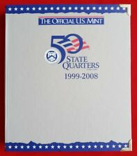 OFFICIAL US MINT COIN ALBUM FOR STATE QUARTERS 1999-2008 - NEW