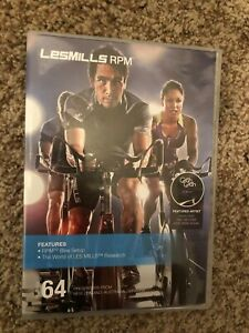 Les Mills RPM 64 DVD, CD, Notes cycling spinning