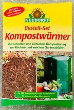 Neudorff - Bestell-Set Kompostwürmer NEU/OVP