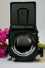 Mamiya RB 67 Pro SD mGehäuse mit Lichtschachtsucher