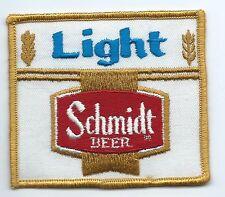 Schmidt Light Beer driver patch 3 X 3-3/8