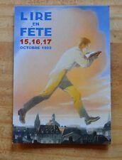 Carte postale Lire en fête 1999, illustration de F. Schuiten