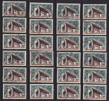 K75* Lot Timbres Oblitérés n°1435 1965 (CHAPELLE..RONCHAMP..) x24 pour étude