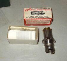 """New listing 1"""" Steel Hog Cutter Metal Boring Cutter Milwaukee 4245 49-57-1002"""