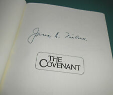 Vintage Signed THE COVENANT James A. Michener First Trade Edition Doylestown PA