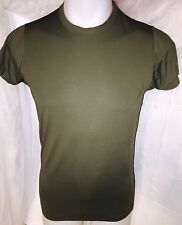 USMC  MARINE CORPS TACTICAL MARINES UNIFORM SPANDEX GREEN SKIVVY SHIRT SMALL