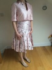 BNWT FENN WRIGHT & MANSON PINK DRESS & JACKET DRESS SIZE UK 12 RRP £268 BRIDAL