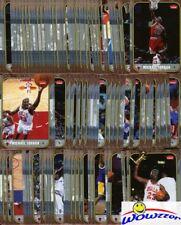2007/08 Fleer Michael Jordan MASSIVE 100 Card Career Set-86 Fleer ROOKIE Design!