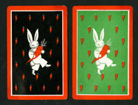 Art Deco Bunny Playing Cards VF 1932