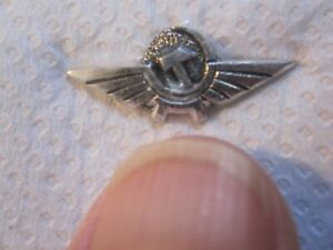 AEROFLOT RUSSIA PILOT WINGS PIN TAG SOLDIER CREW AIRCRAFT AIRLINE PLANE FLIGHT