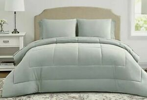 Wamsutta Lustleigh Washed 5-Piece (includes sheets) Twin Comforter Set in Mint
