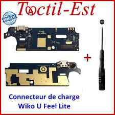 Wiko U Feel Lite 4G ORIGINAL Connecteur de Charge Réseau USB Micro + Tournevis