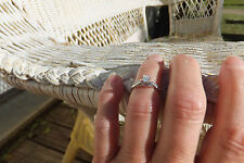 Jensen .20 Center Princess Cut, .25 ct. tw. Engagement Ring, Size 5.25, ISI1