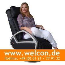 WELCON Space Massagesessel | Massagestuhl made by KEYTON - Leder schwarz