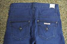 HUDSON BALBOA Midrise Slim Wide Leg Jeans 26X35 NWT$200 Distress Wash! Stretch!