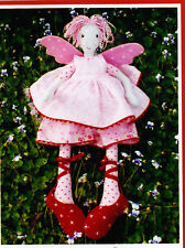 PATTERN - Fairy Floss - pretty cloth doll PATTERN - Melly & Me