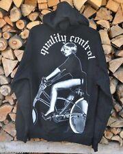 Kapuzen Zipper Skaten Biker Skull Hooded Streetwear Underground LA Gr.S *NEU*