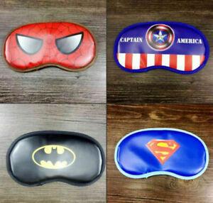 Lot batman mixed children sleep an eye mask Beauty Sleep Eye Mask19cm UK