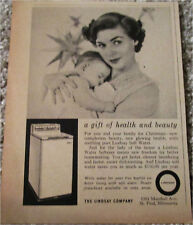 1957 Lindsay Water Softener Christmas ad