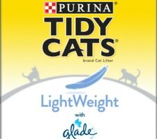 Purina Tidy Cats LightWeight Glade Tough Odor Solutions Clear Springs Clumping