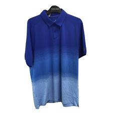 Under Armour Mens Short Sleeve Shirt Size Large, Blue Multi