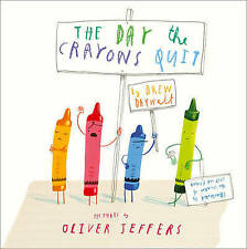 The Day the Crayons Quit-ExLibrary