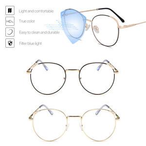 Girl Glasses Blue Light Filter Block UV Computer Gaming Anti Glare Eyeglasses
