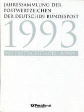 Bund Jahressammlung 1993 der Deutschen Post ESSt.