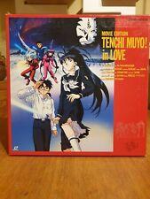 Laserdisc Tenchi Muyo! in Love Movie Edition Box Japan Pressung + OBI