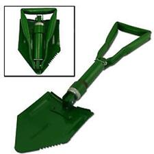 Green Military Style Tri-Folding Shovel Cover Entrenching Tool Survival